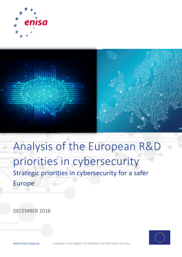 2018-Dec_ENISA-Analysis of the European R&D priorities