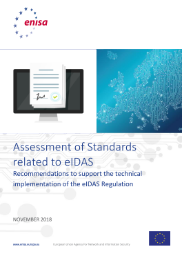 2018-Dec_ENISA- Assessment of standards related to eIDAS