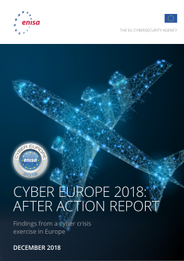 2018-Dec_ENISA-Cyber Europe 2018 - After Action Report