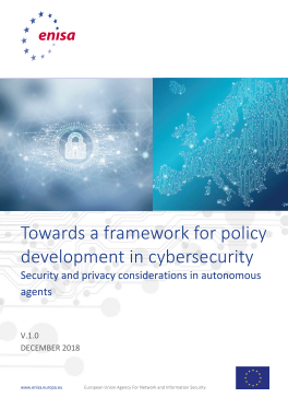2019-Feb_ENISA-Considerations in Autonomous Agents
