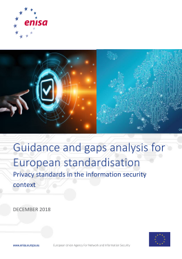 2019-Feb_ENISA-Privacy Standards